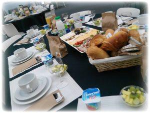 ontbijtbuffet op het werk te Kalken en omstreken