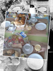 verjaardagsontbijt op kantoor Dendermonde