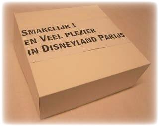 Ontbijtbox is klaar voor Disney